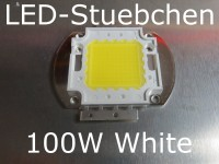 1x 100W High-Power LED Weiss