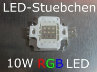 10W LED RGB 9-Chip common anode