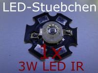 1x 3W High-Power LED IR 700mA