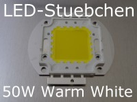 1x 50W High-Power LED Warmweiss
