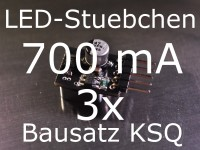3x Bausatz LED Konstantstromquelle 700mA