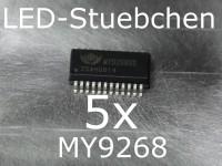 5x MY9268 LED-Treiber IC