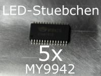 5x MY9942 LED-Treiber IC