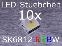 SK6812 RGBW LED mit integriertem WS2811 controller