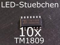 10x TM1809 LED-Treiber IC