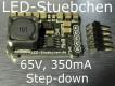 Bausatz LED KSQ 65V max, 350mA, Konstantstromquelle