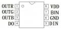 10x WS2818 LED-Treiber IC